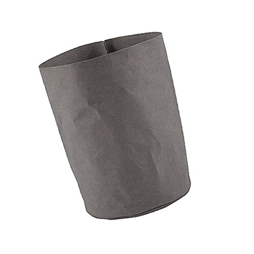 [해외]NATFUR Flower Pot Storage Bags Fruit Vegetable Basket Washable Kraft Grey M / NATFUR Flower Pot Storage Bags Fruit Vegetable Basket Washable Kraft Grey M