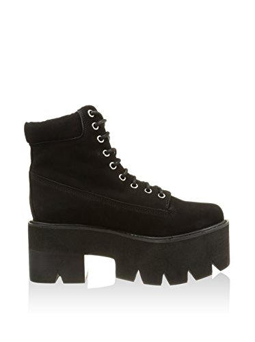 Jeffrey Campbell Nirvana Chuncky Platform Boots negro