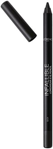 L'Oreal Paris Cosmetics Infallible Pro-Last Waterproof Pencil Eyeliner, Black, 0.042 Ounce,1 Count