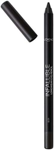 L'Oreal Paris Cosmetics Infallible Pro-Last Waterproof Pencil Eyeliner, Black, 0.042 Ounce