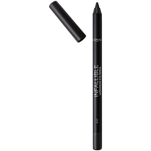 L'Oréal Paris Cosmetics Makeup Infallible Pro-Last Waterproof Pencil Eyeliner, Black, 1 Count