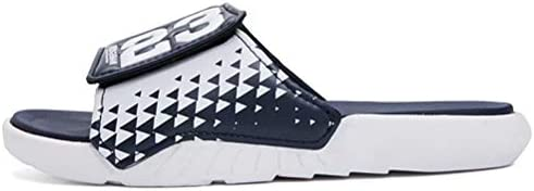 31o5QLw18JL. AC Men's Athletic Adjustable Slide Sandals with Velcro Lightweight Comfort Slip On Sport Slippers    Product Description