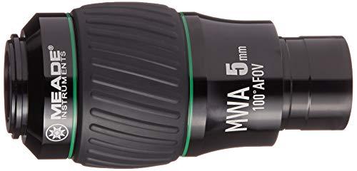 Meade Instruments 607015 Eyepiece, 100 Degree, MWA 5MM, 1.25-Inch (Black/Green)