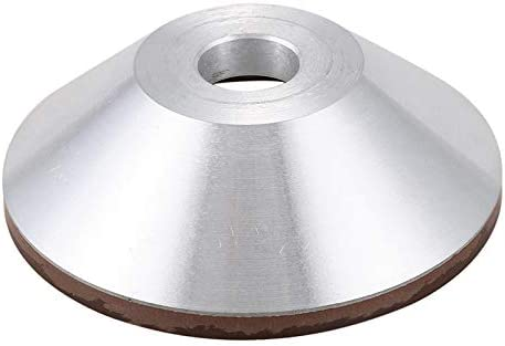 CUHAWUDBA Meule de Meulage de Coupe de Grain 180 de Meule de Diamant de 125Mm pour le M/éTal de Carbure