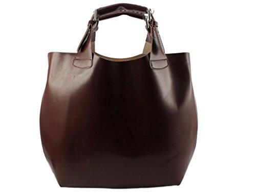 Foncé Marron main mode à sac sac Italie Talia talia sac cabas talia cabas cuir talia Sac sac Plusieurs Coloris UgTw5q