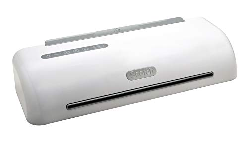 Scotch PRO Thermal Laminator, 4 Roller Machine with 2 temperature settings, 1 minute warm-up, 12.3