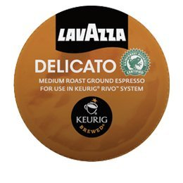 LAVAZZA ESPRESSO DELICATO 90 PACKS made for KEURIG RIVO SYSTEM