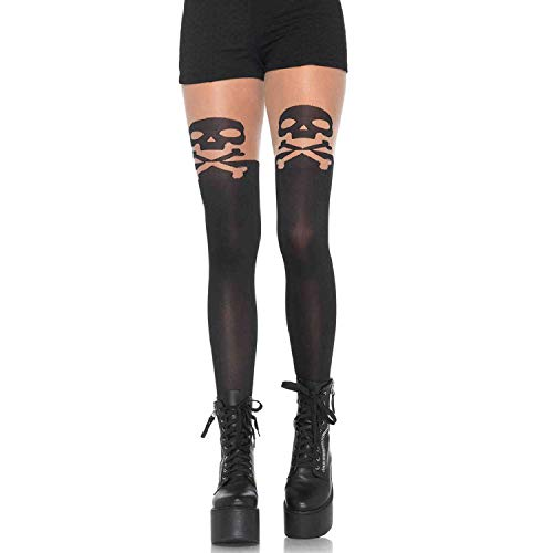 Leg Avenue Womens Skull and Crossbone