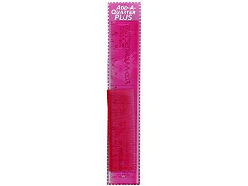 (CM Designs Quarter Plus Pink Ruler 6