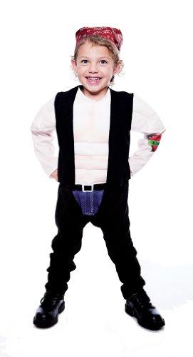 Paper Magic Lil' Big Biker Toddler Costume, Toddler 3/4