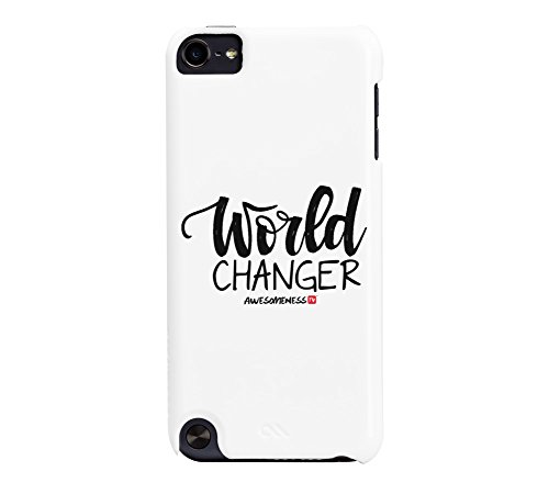 AwesomenessTV: World Changer iPod Touch 5G White Barely There Phone Case Case Mate Ipod Touch