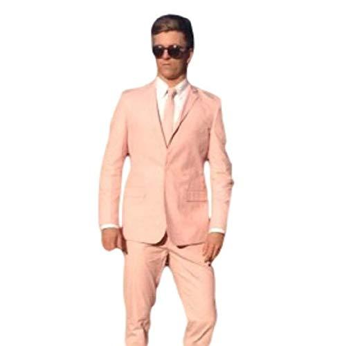 Wacky Suits (tm)) - Pantalón de Traje - para Hombre Rosa ...