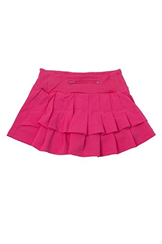 Price comparison product image Adorable Essentials FlutterFit Girls Cocoon Skirt - Bright Pink