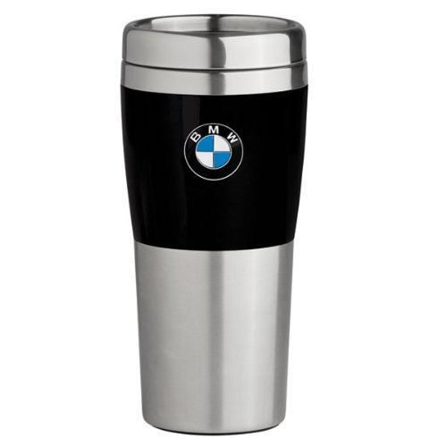 Bmw Travel Mug With Black Band   14Oz