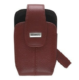 OEM BlackBerry Lambskin Leather Tote for BlackBerry 8800, 8820, 8830 - red