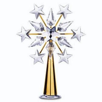 Gold Tree Topper, Swarovski, 632785
