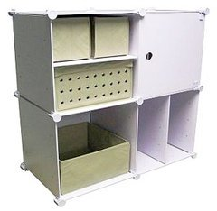 Cropper Hopper - Cubez Collection - 4 Cube Modular Expandable Kit - Includes Bins & Shelves! - Pack Cropper Hopper