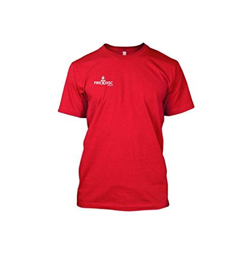 FireDisc - Short Sleeve Red Medium T-Shirt - Backyard Plo...