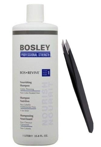 Shampoo Visibly Thinning Non Color-Treated Hair 33.8oz+PROFESSIONAL TWEEZER - Color Visibly Thinning