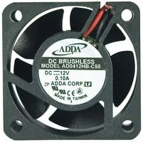 ADDA AD0412LB-C50 AXIAL FAN, 40MM, 12VDC, 70mA (10 pieces)