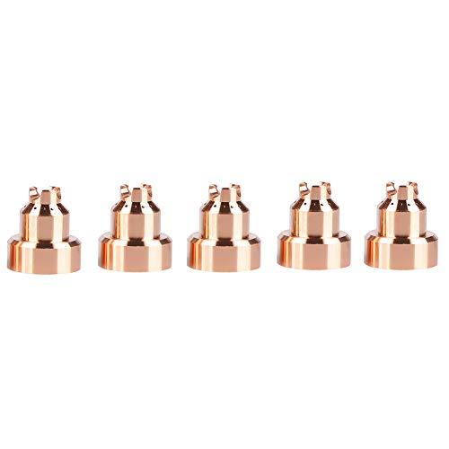 Boquilla de plasma, 5 piezas/juego Consumibles de antorcha de corte 220992, Tapa de protección de plasma de cobre de…