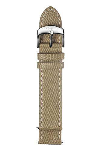 GV2 Women's 18mm Khaki Stingray Pattern Strap Stainless Stee