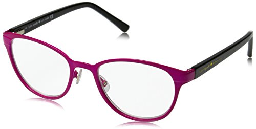 Kate Spade Women's Ebba Oval Reading Glasses, Pink Black 2.0 & Clear, - Glasses Safilo