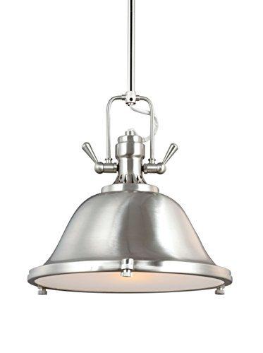 Sea Gull Lighting 6514401-962 One 6514401-962-One Light Pendant, 13.25