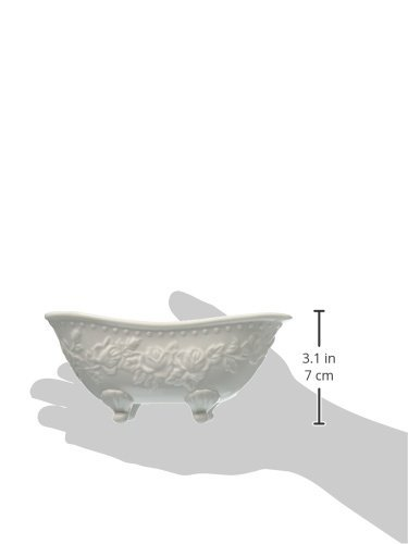 Abbott Collection Bathtub Soap Dish, White by Abbott Collection (Image #2)
