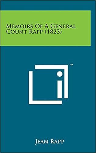 Book Memoirs of a General Count Rapp (1823)