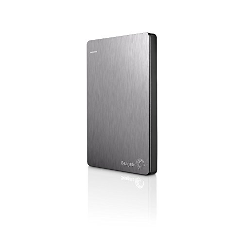Seagate Backup Plus Slim 1TB Portable External Hard Drive with Mobile Device Backup USB 3.0 (Silver) (Certified Refurbished)