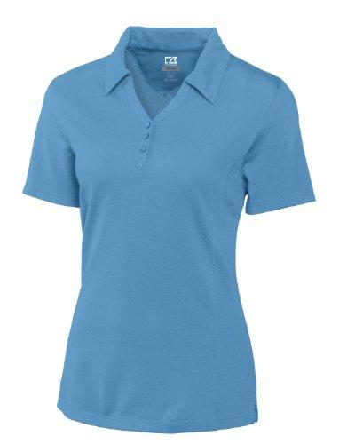 Cutter & Buck Women's Plus Size CB Drytec Championship Polo, sea Blue, 5X