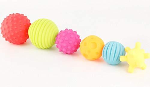 新しいコレクション GonPi トイボール 6個 ハンドボール マルチボールセット 赤ちゃんの触覚を育む ベビー ベビー B07P2YBDKQ タッチ ハンドボール おもちゃ ベビー トレーニングボール B07P2YBDKQ, シェシェア【xiexiea】:eac98611 --- fenixevent.ee