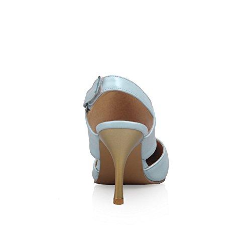 puntera y mujer tacón de Azul para 100FIXEO puntera Zapatos con 87qnB