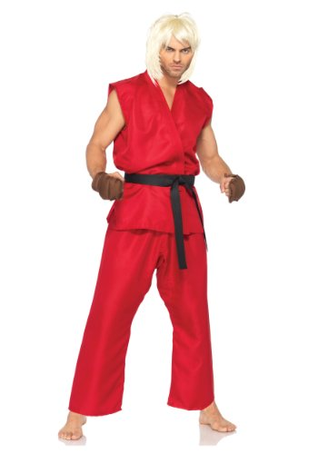 Leg Avenue Mens Street Fighter Ken Edition Theme