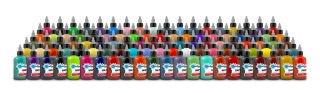 Starbrite Tattoo Ink - Multi Color Set (1 oz, Master Collection - 100 Colors)