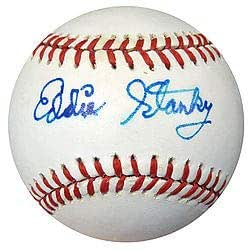 Eddie Stanky Signed National League Baseball Dodgers - PSA