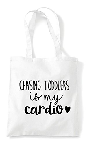 Shopper Tote Cardio My Statement Bag Toddlers White Chasing Is XSBwx0x4