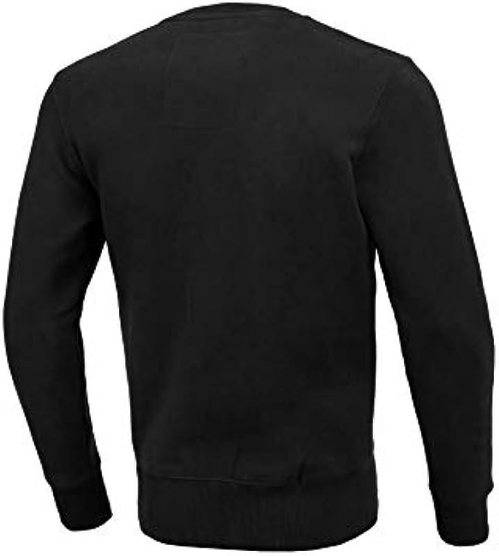 Pit Bull West Coast sweter bokserski, czarny: Sport & Freizeit