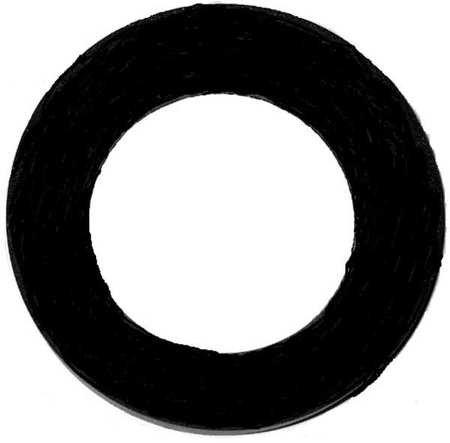 Closet Gasket, Toilet, Rubber, Black, (Pack of 5)