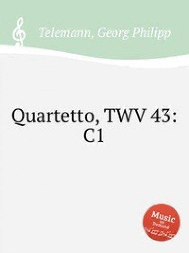 Read Online Kvartet, TWV 43:C1 pdf epub
