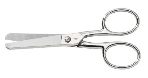 Gingher 220070-1001 Large Handle Pocket Scissors, 6-Inch, Industrial Pack
