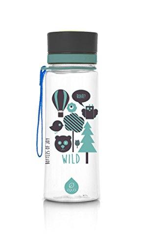 Botella rellenable EQUA libre de BPA - diseño Wild (0,6 L)