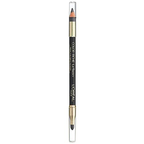 L'Oréal Paris Color Riche Le Smoky Liner, 202 Mystic Grey - farbintensiver Eyeliner mit Applikator für ausdrucksstarke Augen, ideal geeignet für einen perfekten Smokey Eyes Look, 3er Pack (3 x 1 g)