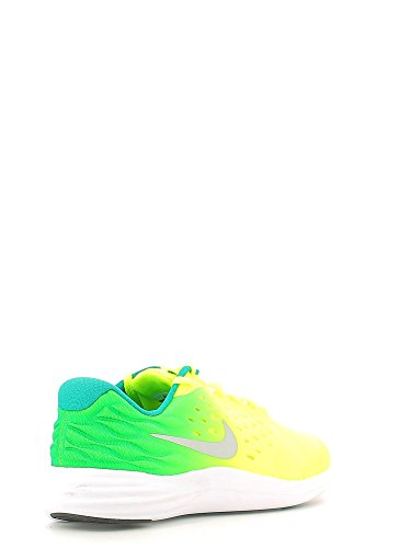 Nike Lunarstelos (Gs), Zapatillas de Running para Hombre Amarillo (Amarillo (volt/metallic silver-rio teal-black))
