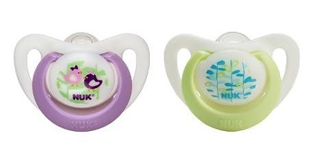 Amazon.com: NUK paquete de 4 recién nacido ortodoncia ...