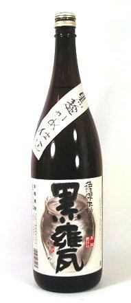 神酒造 黒麹かめ仕込 薩摩本格芋焼酎 黒甕(くろかめ) 1800ml
