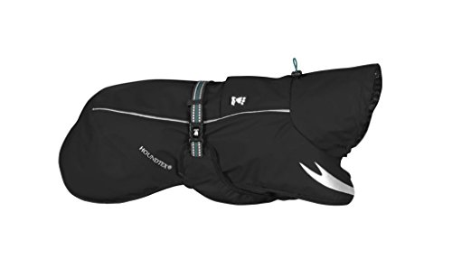 Hurtta Pet Collection Torrent Coat for Dogs, 24'', Raven by Hurtta