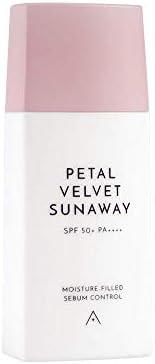 ALTHEA Petal Velvet Sunaway Lightweight Fluid Sunscreen SPF 50+ 1.86fl oz / 55ml w/Hyaluronic Acid