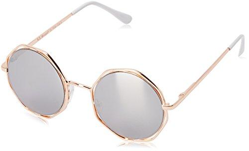 A.J. Morgan Clayton Round Sunglasses, Gold / Mirror Lens, 50 - Lens Morgans